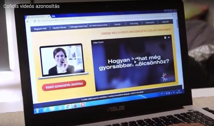 Cofidis videós beazonosítás az online hitelfelvételhez