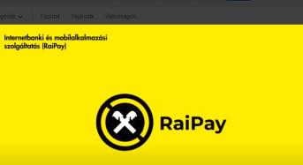 Végre megérkezett a RaiPay mobilfizetés!