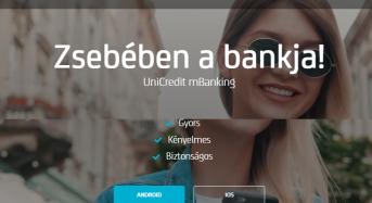 Az UniCredit SpectraNet alkalmazás pénzügyeink intézéséhez